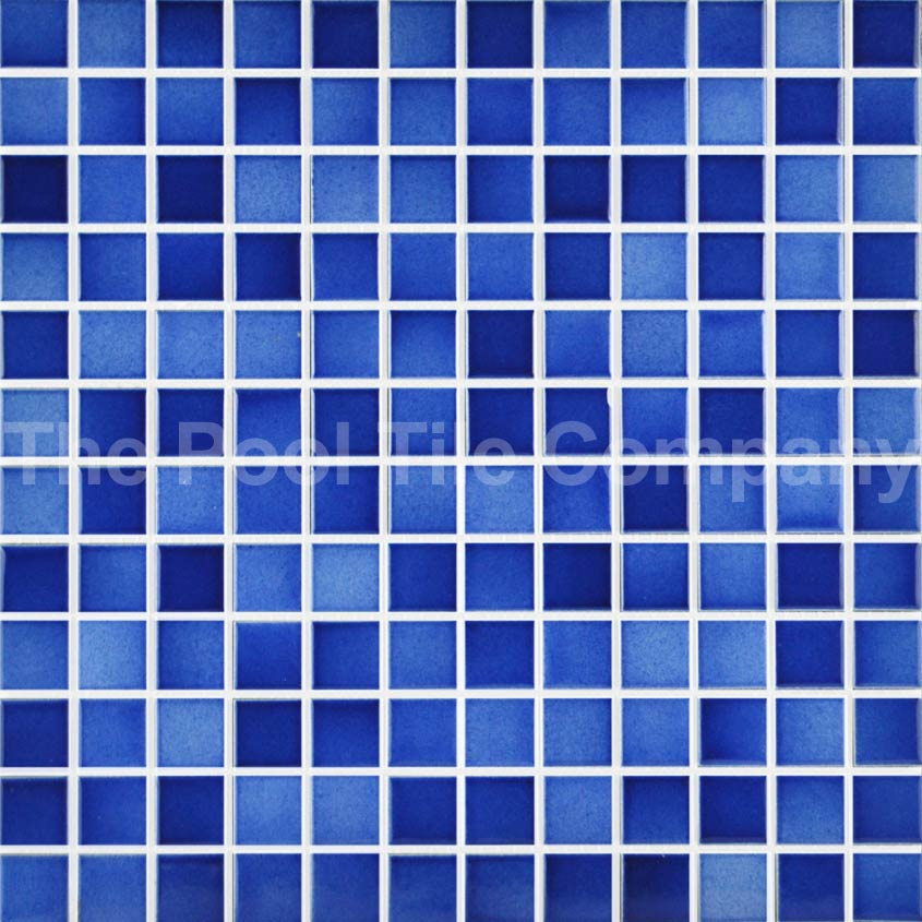 Cmc300 Twilight Blue Ceramic Mosaic Pool Tiles