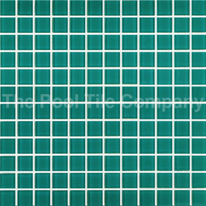 GCR120 Green Crystal 23mm mosaic tiles