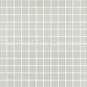 GCR150 Ivory 23mm crystal glass mosaic pool tiles