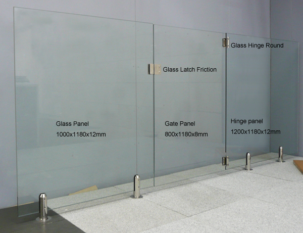 The Pool Tile Company Glass Fencing