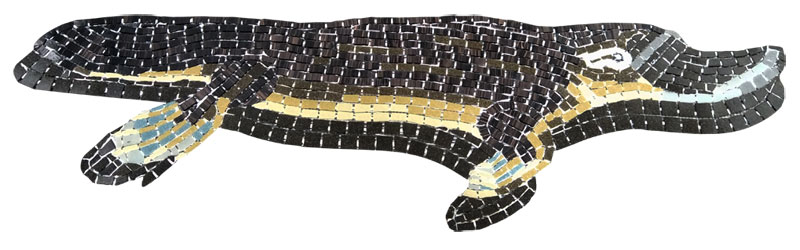 Glass Mosaic picture of platypus