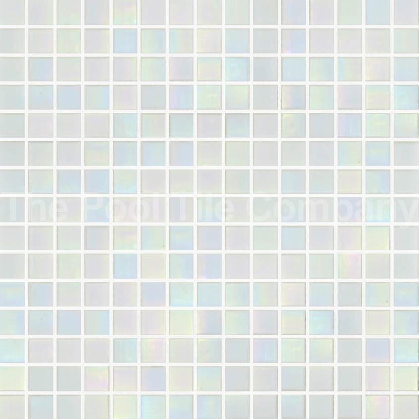 White Pearl Pool Tiles Glass Mosaic Tiles Gc200