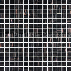 GC099 Black Caramel mosaic tiles