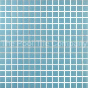 GC155 Pale Blue glass mosaic tiles