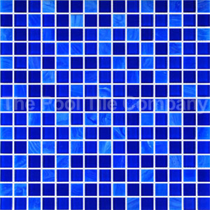 GCR310 Royal Crystal Pearl Blend 20mm mosaic tiles