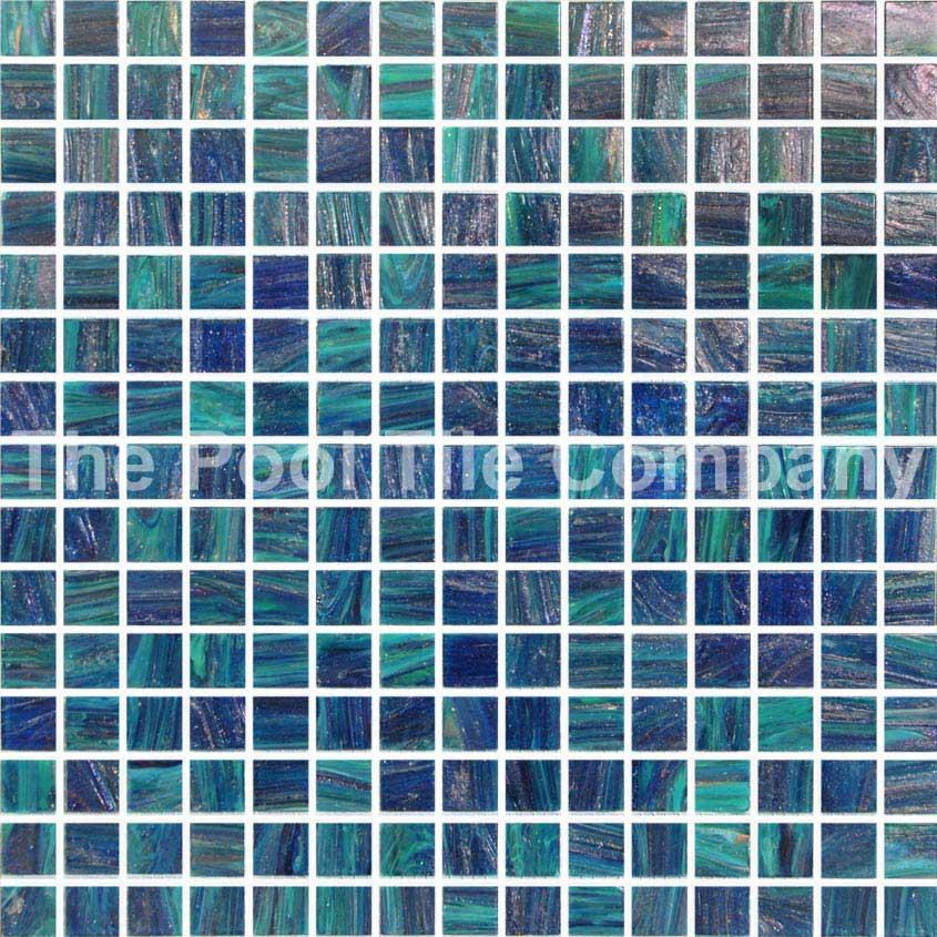 Gc210 peacock pool tiles glass mosaic tiles - Mosaic pool tiles ...