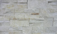 Contempo Gold Stacked Stone Panel