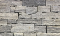 Natural Grey Stacked Stone Panel