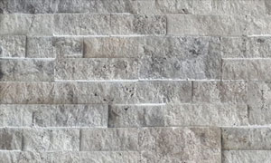 Travertine Silver Walling