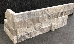Travertine Silver Walling Corner