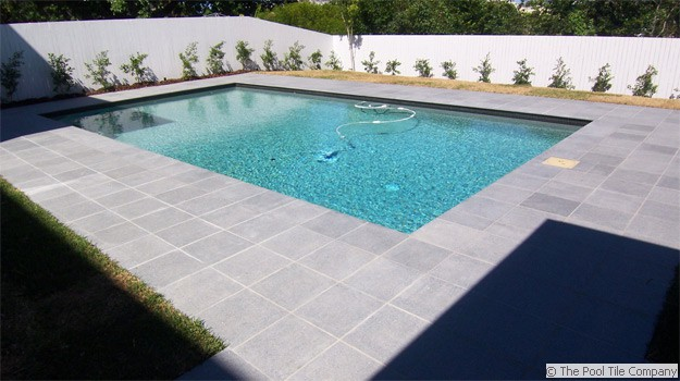 Dark Grey Granite Pool Tiles And Pavers