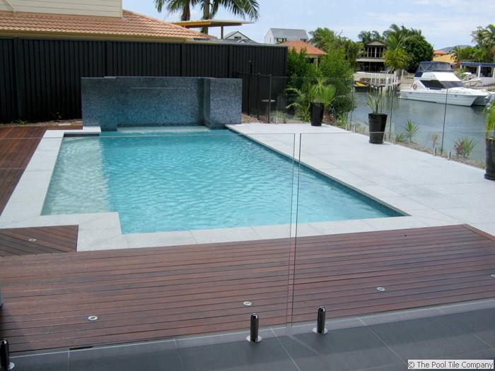 Light Grey Granite Pool Tiles And Pavers Outdoor Pavers