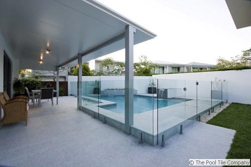 Light Grey Granite Pool Tiles And Pavers