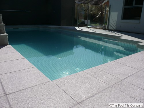 Mushroom Granite Pool Tiles Amp Coping Outdoor Pavers And