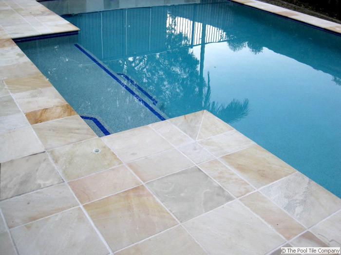Natural Himalayan Sandstone Pool Tiles Amp Coping Outdoor