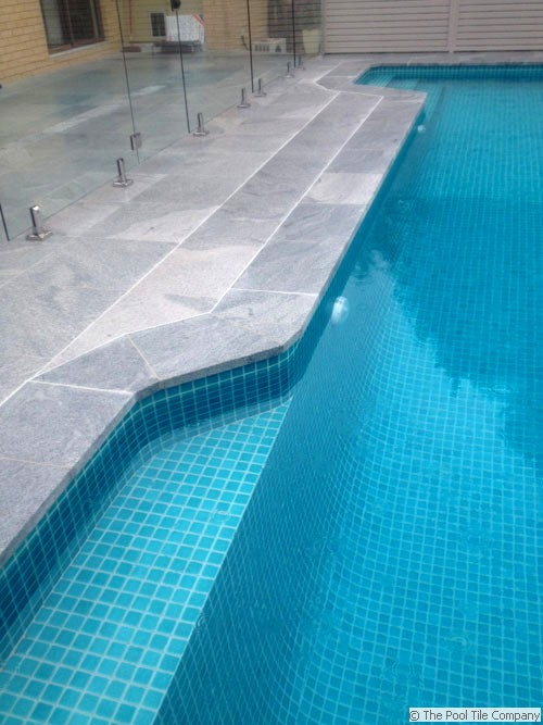 Sandwave Granite Pool Tiles And Coping Outdoor Pavers And