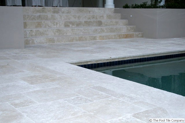 Linen Travertine Tumbled Unfilled Tiles Amp Pavers