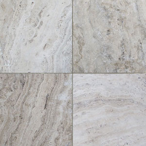 Travertine Cashew Tumbled Unfilled Tiles