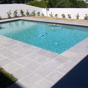 Dark Grey Granite Pool Tiles