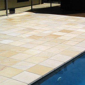 Photos Of Pool Pavers And Stone Tiles And Matching Coping