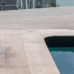 Dune Limestone Tumbled Coping Tiles
