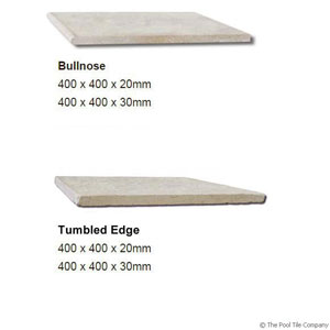 Dune Limestone Tumbled Coping Profiles