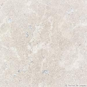 Dune Limestone Tumbled Pool Tiles closeup