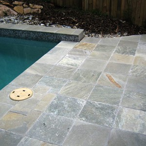 Grey Gum Quartzite Pool Pavers