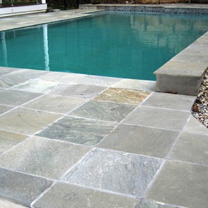 Grey Gum Quartzite Pool Surrounds