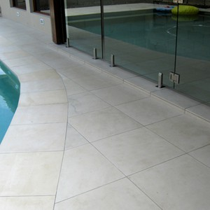 Honed Himalayan Sandstone 400x400mm Pool Tiles