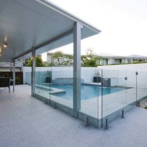 Light Grey Granite Pool surround tiles