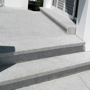 Light Grey Granite Steps