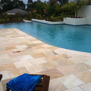 Natural Himalayan Sandstone Multi Coloured Effect