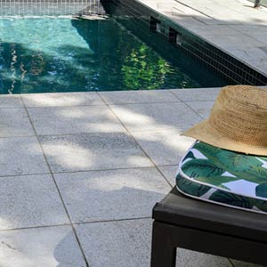 Sandwave Granite Pavers and Pool Coping