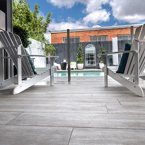 Silver Elm TileDeck decking tiles