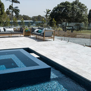 Silver Marble Tiles & Pavers