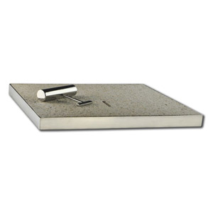 Almond Granite skimmer box lid