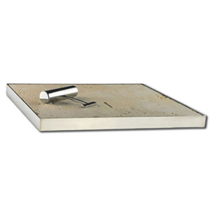Ivory Travertine Tumbled Unfilled Skimmer Box Lid