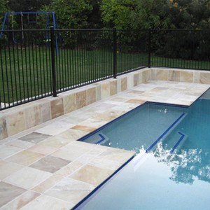 Natural Himalayan Sandstone Pool Tiles