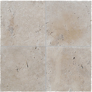 Travertine Linen Tumbled Unfilled Tiles