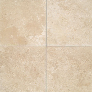 Travertine Linen Honed & Filled Tiles