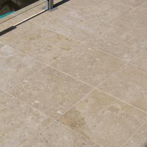 Dune Limestone Tiles and Pavers in place