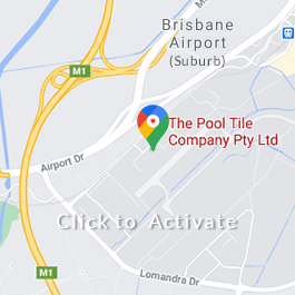 Google Map showing The Pool Tile Company Brisbane