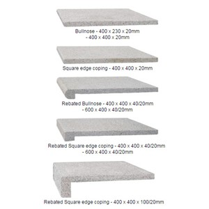 Pool Coping Stone Tiles And Coping Profiles
