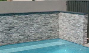 SS110 Frosted Ice Stacked Stone Panel